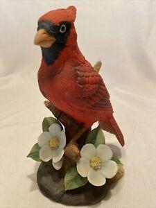 Beautiful Cardinal Porcelain By Stefani Figurine Made in Japan