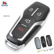 Replacement Smart Prox Remote Key Shell Case Fob 4B for Ford Mustang Fusion F150