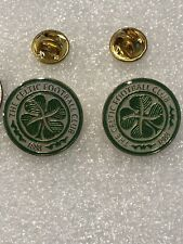 Nice Lot of 2 Celtic United Scotland Soccer Team Lapel Pin Free Ship in Usa