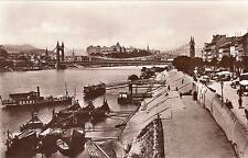AK, Foto, Budapest - Elisabethbrücke m. köngl. Burg, um 1920 (D)5026-7