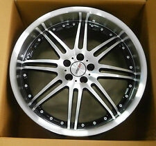 MOTEC ALUFELGE Antares black polished/steel 9.5x19 zoll ET25 5x100 57.1