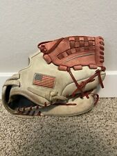 "Worth Liberty Baseball/Softball Mitt Glove 12 1/2"" RHT Made In USA"