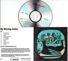 MY MORNING JACKET Z UK 10-trk numbered/watermarked promo test CD