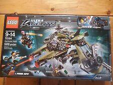 New Lego Ultra Agents Set 70164 Hurricane Heist Sealed in Box 4 Minifigs
