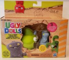 UglyDolls Babo & Squish-and-Go Sharwhal, 2 Figures & Accessories & 3 Surprises