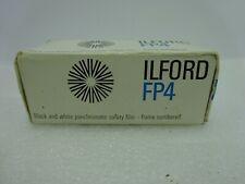Vintage Ilford FP4  ASA 125 22 DIN 120 Black & White Film