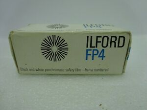 Vintage Ilford FP4  ASA 125 22 DIN 120 Black & White Film