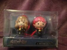 Harry Potter Christmas Tree Decorations Hermione Granger and Ron Weasley Primark