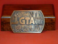 Pre-Owned GTA Automation Brass Color Belt Buckle