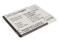 Replacement Battery For Micromax 3.7v 1700mAh / 6.29Wh Mobile, SmartPhone Batter