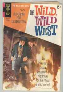 The Wild, Wild West #7 October 1969 G/VG  last issue