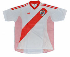 Argentina River Plate 2002 home Jersey S or M white shirt adidas
