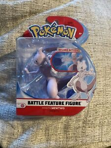 Pokemon Battle Feature Figure Pack (4.5-Inch Scale) - Mewtwo *BRAND NEW*
