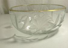 Très belle coupe en cristal taillé Karlsbad Moser, Art Nouveau.