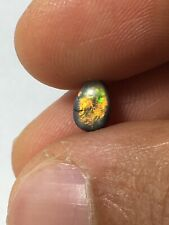 australian opal Black Lightning Ridge 0.91 Carat- Video