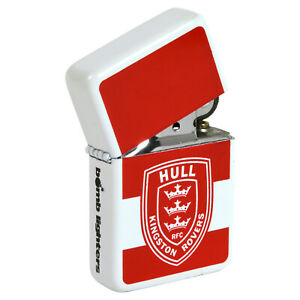 Hull KR Lighter No.1 Fan Rovers Windproof Refillable Xmas Gift Rugby League fan