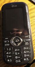 LG VN250 Cosmos Fast Ship Cell Phone Black Verizon Fast Shipping Very Good Used