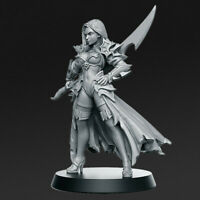 DALILA SCALE 32mm MORDHEIM ZOMBICIDE DnD ROL D&D