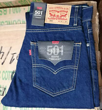 LEVIS 501 Original Fit Jeans Denim Straight fit Stonewash Blue 005010114