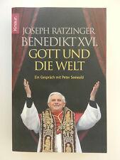 Joseph Ratzinger Benedikt XVI Gott und die Welt Knaur