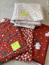 Bundle of Christmas Fabrics