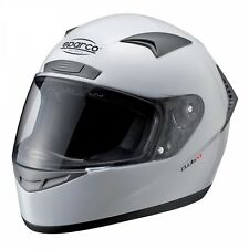SPARCO CLUB X1 HELMET White, size M (57-58cm), FULL FACE ECE Approved
