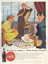 ▬► PUBLICITE ADVERTISING AD Coca-Cola Wirts 1955