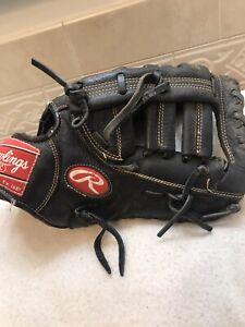 "Rawlings RFBFB 12"" Baseball Softball First Base Mitt Right Hand Throw"