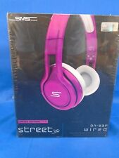 NEW SMS Audio STREET by 50 Cent On-Ear Limited Edition Headphones - Pink WIRED