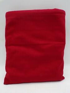 Pottery Barn Kids Twill Oversized Anywhere Chair Slipcover Only Red #9751B