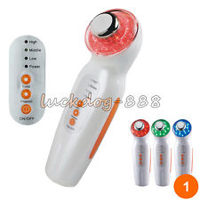 CE Approved Ultrasonic Facial Skin Care Photon Rejuvenation LED Light Therapy