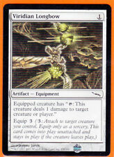 MTG Mirrodin Common  1 x VIRIDIAN LONGBOW 270/306 Equipment Never Played AS NEW