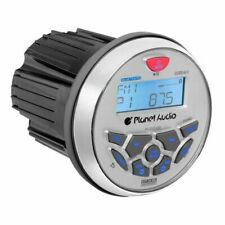 Planet Audio PGR35B 3.5 inch Marine Bluetooth Boat Stereo Receiver