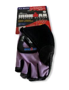 Spenco IronMan Rip-It T.2 Elite Purple/Black Fingerless Cycling Gloves Sizes NEW