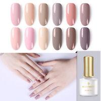 BORN PRETTY Nude Colors UV LED Gel Nagellack Polish Soak Off Gel Maniküre Pink