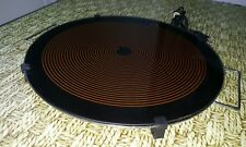 "15.75""  European Electric Crepe tortilla Maker, round heating tray, Glass top"