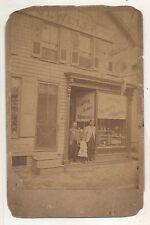 Abraham S Felker Watchmaker Jewelry Shop STEELTON PA 1800s Pennsylvania Photo