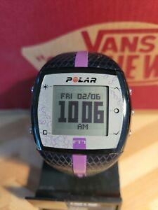 Polar FT7 Womens Digital Heart Rate Monitor in Black & Purple Watch Only