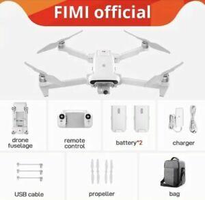FIMI X8 SE 2020 8KM FPV 4K Camera GPS RC Drone Quadcopter RTF+ 2 Batteries + Bag