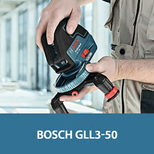 Bosch GLL3-50 Self-leveling 3-Line 165ft 50M 360-deg Rotational base Laser Beam