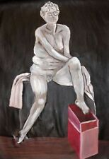 Artist Medium (up to 36in.) White Art Paintings