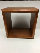 Pottery Barn Kids Wall Cabinet Box Display Honey Stanton Cubby MSRP $26