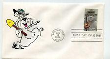 2096 Smokey Bear, Animated by Ellis, FDC