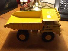 NZG 222 CAT 769C Dump Truck in playworn condition, 1:50 scale