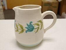 Franciscan Earthenware Blue Green Tulip Time Creamer EXCELLENT