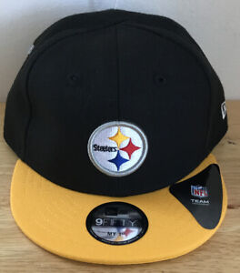 Pittsburgh Steelers Adjustable Cap Hat New Era 9fifty Infant My 1st NFL NEW