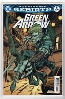 Green Arrow Issue #1 DC Comics Rebirth Variant Cover (Aug. 2016)
