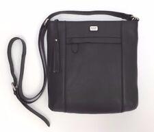 066a5fef6e92 Osprey Murano Medium Cross-Body Bag Black Leather