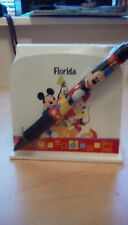 brand new disneyland florida memo pads and pen still sealed