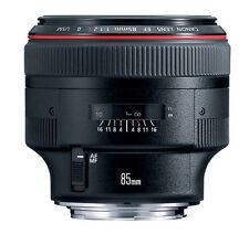 Canon EF 85 mm F/1.2 L II USM Telephoto Lens made Japan Fedex Free to USA